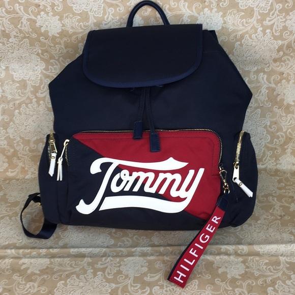 Tommy Hilfiger Handbags - Tommy Hilfiger Navy Blue Backpack